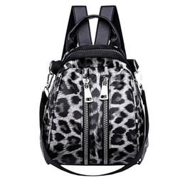 Kinderrucksäcke leoparddruck online-Mode Leopardenmuster Kleine Rucksäcke Für Frauen 2018 Mini Rucksack Kinder Mode Rucksack Reise Pu-leder Taschen Winter Tasche