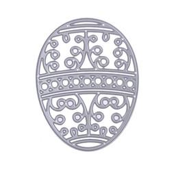 Argentina Huevo de Pascua Plantillas de Troqueles De Corte de Metal para DIY Scrapbooking Álbum Foto Decorativo En Relieve Tarjeta de Papel Artesanal Suministro