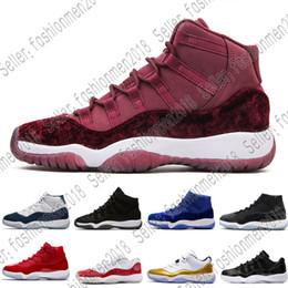 new product edb08 1c241 Nike Air Max Jordan Mens Basketball Schuhe Concord 11 11s Prom Night Frauen Blackout  Ostern Gym Red Midnight Navy Barons schließen gezüchtete Zeremonie ...