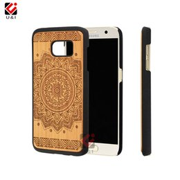 Wholesale Drop Ship Plastic Models - Drop ship fast selling wooden cell designer phone case for samsung galaxy s7 s 7 mixed model for galaxy s7 100% brand new