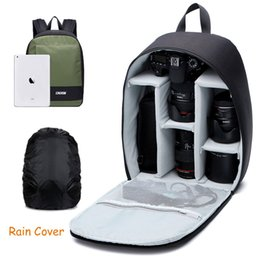 Wholesale collections photos - CADEN Portable Camera Collection Soft Bag Professional Photo Backpack for DLSR   SLR Bag For Photographic Equipment