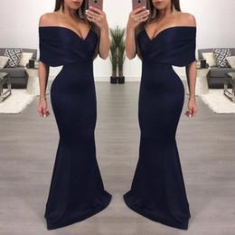 492eaf562 2019 vestidos de beleza noite do ombro Beleza-Emily Longo Roxo Vermelho  Cinza Baratos Vestidos