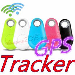 etiqueta bluetooth Rebajas Mini Teléfono Inalámbrico Bluetooth 4.0 No Perseguidor del GPS Etiqueta de Alarma Buscador de Claves Grabación de Voz Anti-perdida Obturador Selfie Para ios Android Smartphone