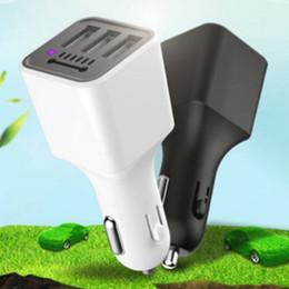 2019 hyundai auto ladegerät Auto Ladegerät Negative Ionen Luftreiniger 3 USB Zigarettenanzünder One For Three 3.1A Multifunktions Auto Schnellladegerät