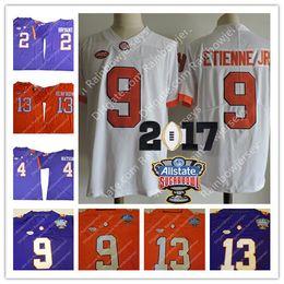 Wholesale Kelly Green Shorts - Clemson Tigers College Jerseys #13 Hunter Renfrow 9 Travis Etienne Jr. 2 Kelly Bryant 4 Watson 2018 Championship Sugar Bowl Orange Purple
