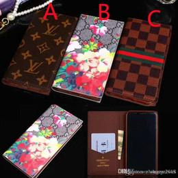 Canada Pour iPhone XS MAX lettre de design lettre G fleur treillis flip étui en cuir portefeuille housse pour iphone 7 7plus 8 8plus X avec fente pour carte Offre