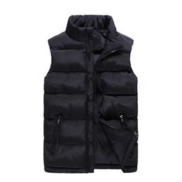 Männer Jacken 2018 Neue Solide Frauen Puffer Weste Cotton-Padded  Wintermantel Beiläufige Männliche Jacken Heiße Sleeveless Jacke Weste  günstige puffer weste ... cd6c2abe0a