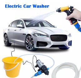 Wholesale Water High Pump Car Wash - Free Shipping High Pressure Electric Car Wash Washer Water Pump 12V Car Washer Washing Machine Cigarette Lighter
