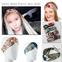 Mejores marcas para mujeres online-2018 caliente Más Nuevo Diseñador de Seda cintas de pelo Heaband para Las Mujeres de Moda de Lujo de la Marca bordado diademas Mejor Calidad para el regalo