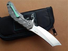 Wholesale Blade Machete - Custom Tactical Gear Machete KVT Ball Bearing System CPM-D2 Steel Blade Magic OEM Chav Tactical Knives Camping Equipment G7S