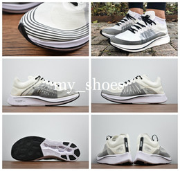 Wholesale break boots - 2018 New Lab Air Zoom Vaporfly Elite Casual Shoes Zoom 4% Fly SP Breaking 2 Brand Men Casual Shoes Light Energy Boot US7-10