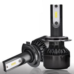 luz de advertencia de peligro estroboscópico Rebajas Bombillas H7 LED Bombillas para automóviles H7 Auto Lamp (M499) 5500K 55W 12V Seoul CSP Chip IP68 Superconductoras de aluminio de larga duración