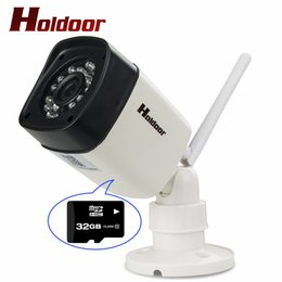 Wholesale ipc securities - Holdoor Camcorder IPC Wireless IP Camera WiFi Full HD 1080P 2.0MP Security Camera Built in Micro SD Card Onvif IP65 Waterproof