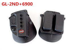 Doppia mag-bag online-Fobus Evolution Holster RH Paddle GL-2 ND Per G 17 19 22 23 27 31 32 34 35 6900RP Double Mag Pouch