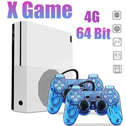 Jogo 64 bit on-line-XGame Retro Handheld Game Console Loja 600 Jogos 4G 64 Bit Suporte HD AV Out X Game Player Para GBA / SMD / NES / FC