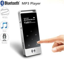 2019 registro de bolso Quentes! Portátil Mini MP3 Player 8 GB Tela de Toque Hi-Fi Lossless Music MP3 Player com Suporte de Rádio FM TF Cartão de Pockets de Gravação desconto registro de bolso