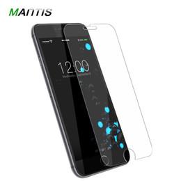 Vetro i6 online-Vetro di protezione On The For IPhone 6 6S ultra-sottile 0.26MM Per iphone 5 7 8 X vetro temperato per protezione schermo del telefono I6