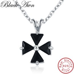 windmill pendant Promo Codes - [BLACK AWN] 925 Sterling Silver Jewelry Necklace for Women Female Bijoux Windmill Necklaces Pendants Girl Gift K017