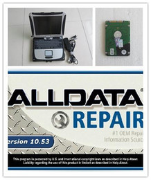 Wholesale volvo repairs - newest alldata mitchell disk 1000gb auto repair installed in laptop cf19 touch screen diagnostic computer for car and truck