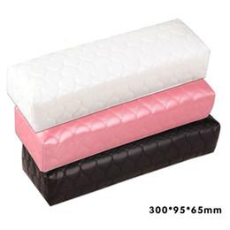 almofada de almofada de braço Desconto Coluna macia Almofada Prego Travesseiro Titular Mão Rec Rec Couro Pad Prego Braço Manicure Art Acessórios Ferramenta