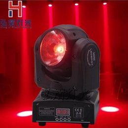 Wholesale Led Spot Club Lights - Wholesale- 60w LED Moving Head Spot light LED RGBW 4in1 DJ Studio Stage For Disco, Clubs, KTV, Pub, Bar, Banquet, Weddings, Family Show
