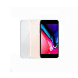Wholesale real gold bars - Goophone 8 plus MobilePhone 5.5inch Real Fingerprint Support Wireless Charger Quad Core MTK6580 1GB RAM 8GB 3G WCDMA Unlocked Cellphone 8686