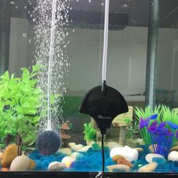 Aria pompa di pietra online-Pompa ad aria per acquario Pompa ad ossigeno per aerazione con pompa a risparmio energetico Super silenziosa con tubo per aria e ossigeno