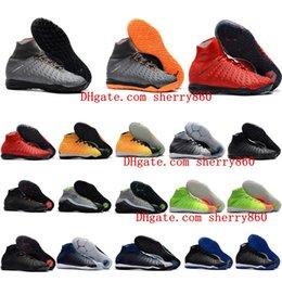Botas ii online-2018 zapatos de fútbol para hombre calientes hipervenom Proximo zapatos de fútbol HypervenomX Proximo II DF TF IC botas talla 39 - 46