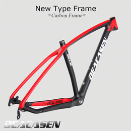 Wholesale 29er Carbon - 2018 NEW full mtb carbon frame 29er carbon mountain bike frame 29 plus full carbon fiber OEM mountain frameset