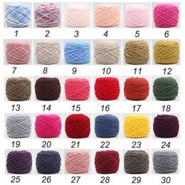 Tissé à la main bricolage couleur fil grossier lait coton tricoté bonnet écharpe vêtements doux laine tissés à la main coton fil à tricoter couple écharpe épais court ya ? partir de fabricateur