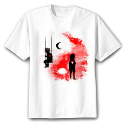 Wholesale Fashion Clothing Summer Youth - 2018 summer hot anime t shirt homme blood youth Uzumaki Naruto Fashion brand clothing hip hop fitness men's t-shirts funny tops