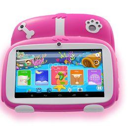 2019 huawei carte unique Livraison gratuite tablette enfants 2018 BDF New 7 pouces Android 4.4 Tablet Pc stockage WiFi 8G infantil cadeaux d'apprentissage pour les enfants