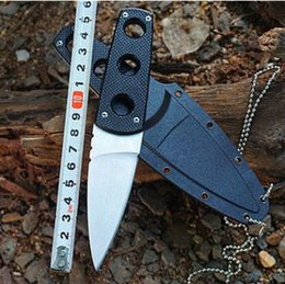 Wholesale High Performance Camp - Cold Steel Fixed Blade Knife Secret Edge Straight Knives High Performance Camping Tactical Survival Diving EDC Hand Tools