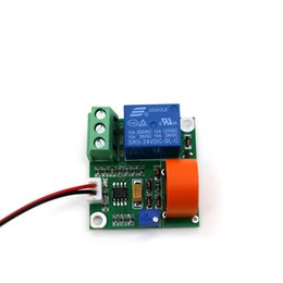 module output Coupons - AC Current Detection Sensor Module 0-5A DC 24V 12V 5V Switching Transducer Digital Output with Test Wire