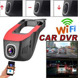 registratore mp4 sd Sconti Videocamera con videocamera Dash-Cam con videocamera Dash 1080P WIFI per auto nascosta con visione notturna
