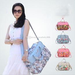 Wholesale Nurses Tote Bags - Infant Diaper Bags Mommy Bags 2018 Fashion Mother handbag Multifunction Diaper Messenger bag Outdoor Nursing Travel Bags C3423