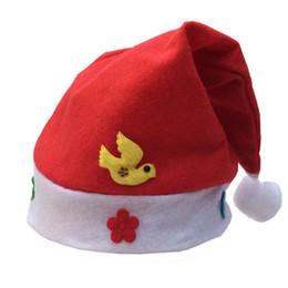 Cappello di Natale per bambini Natale ornamenti creativi Cute Hat Cartoon Christmas Hat da