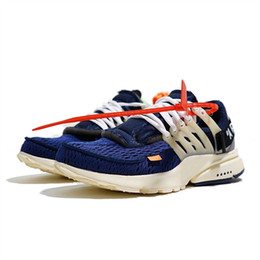 Wholesale designers art - Presto 2.0 X WHITE 2018 New Mens Designer Running Shoes for Men Off Casual Trainers Women Sports Sneakers