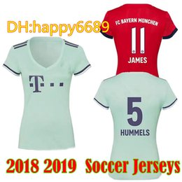 52d93f32e8d 2018 2019 Soccer Jersey Bayern Munich LEWANDOWSKI Müller RIBERY 18 19 ROBBEN  football uniforms Top sales VIDAL JAMES WOMEN Soccer Shirts