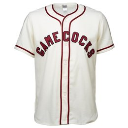 Camiseta de béisbol vintage online-University of South Carolina 1967 Home Jersey 100% Stitched Embroidery Vintage Baseball Jerseys Custom Any Name Any Number