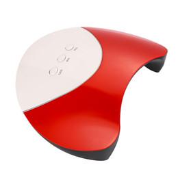 clavos de gel recargables lamparas Rebajas 4 colores máquinas 36W Lámpara LED Secador de uñas Gel UV Secador de uñas Gel de curado Secador de uñas Máquina de uñas para mujeres