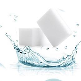 2019 almofadas de melamina 50 pçs / lote Nano Esponja Mágica Eraser Cozinha Banheiro Melamina Esponja Limpador de Lavar Louça Lavar Ferramentas de Limpeza 10 * 6 * 2 CM almofadas de melamina barato