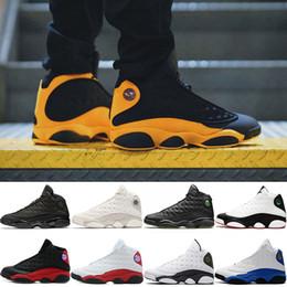 on sale b5378 6a607 Er bekam Spiel 13 13s Männer Basketball-Schuhe Melo Klasse von 2002 Phantom  Black Cat Günstige Designer Athletic Trainer Sport Sneakers Größe 41-47  günstig ...