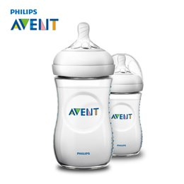 Wholesale Infants Milk - AVENT 2pcs BPA Free Natural Polypropylene Bottle 260ml Infant Mamadeiras Juice Milk Water Feeding Bottle Garrafa Nursing
