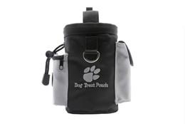 sacs à provisions pour chiens en gros Promotion Belle Pet Dog Treat Pouch Dog Training Treat Sacs Portable Détachable Doggie Pet Poche Poche Puppy Snack Reward Taille Sac En Gros