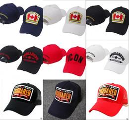 6f8e30661e9 D2 ICON Hip Hop Baseball cap Snapback Hats Brand designer Canada Flag Style  Hat for Men Women Caps Casquette hats bone Embroidery Gorras