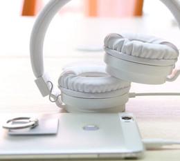 DEEP BASS Auriculares Auriculares 3.5mm AUX Plegable Portátil Ajustable Auriculares Para Juegos Para Teléfonos MP3 MP4 Ordenador PC Música Regalo desde fabricantes