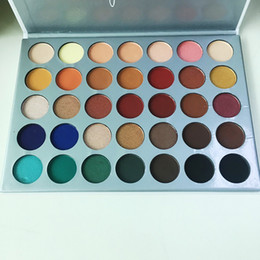 Wholesale Eye Shadows High Quality - Factory Direct Eyeshadow 35 colors Eye shadow Palette The JaclYn Hill Palette Eye Shadow Makeup high quality DHL free shipping