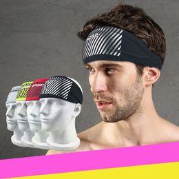 banda para la cabeza negra Rebajas Dropshipping 2018 New Maleroads Sport Headband Hombres Mujeres Head Sweat Band Run Fútbol Tenis Pañuelo