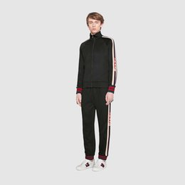 Wholesale Fashion Sweat Suits - Men Sets jacket + Pants 2018 Brand New Autumn winter sweatshirt tracksuit sweat suits men coats jackets Casual sweatshirts Asian Size M-3XL
